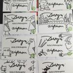 Visitenkarten Illustration Grafikdesign Werbeagentur Anja Wießmann MV