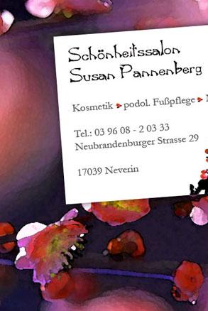 Visitenkarten Logoerstellung Grafikdesign Anja Wießmann Neubrandenburg