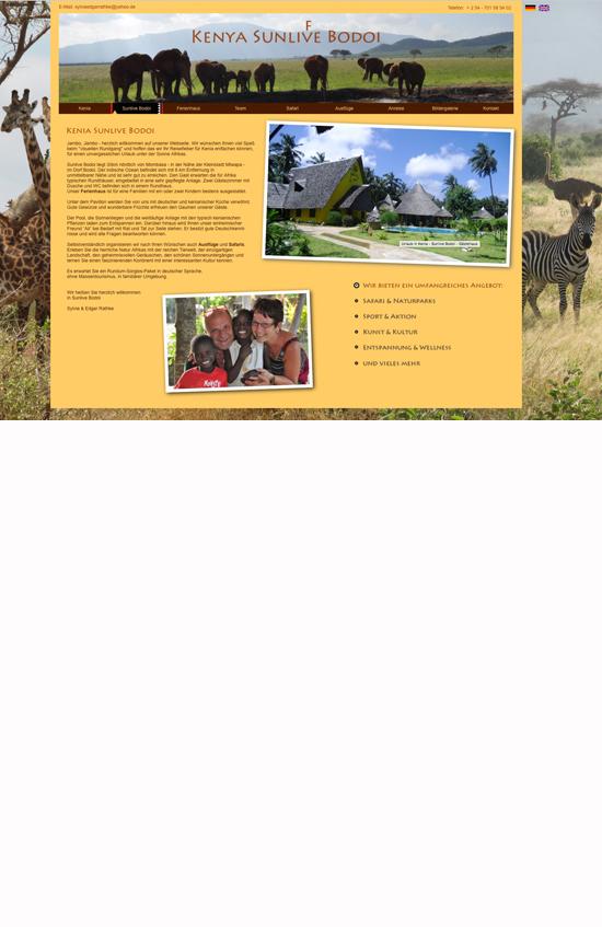 anja-wiessmann-webseiten-design-awart-kenia-sunlive