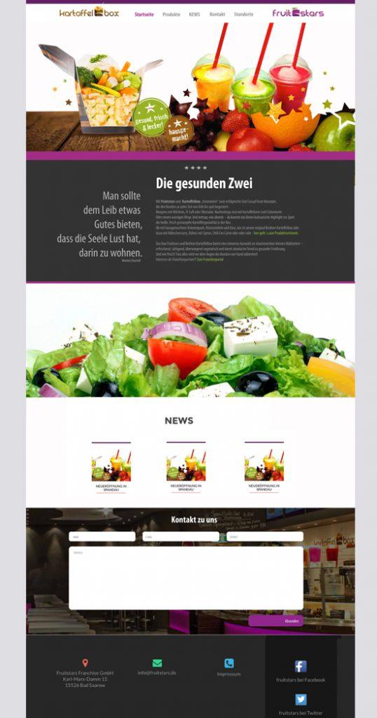 Webseitenerstellung Webdesign Anja Wießmann Berlin