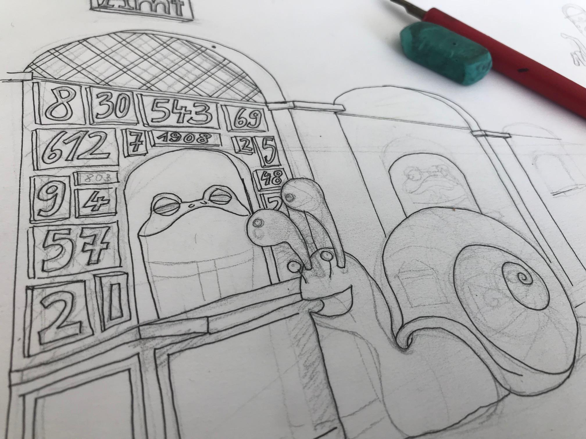 Illustration Kinderbuch Anja Wießmann