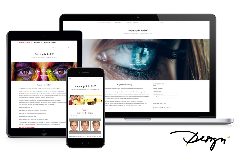 Augenoptik Radloff responsives-design