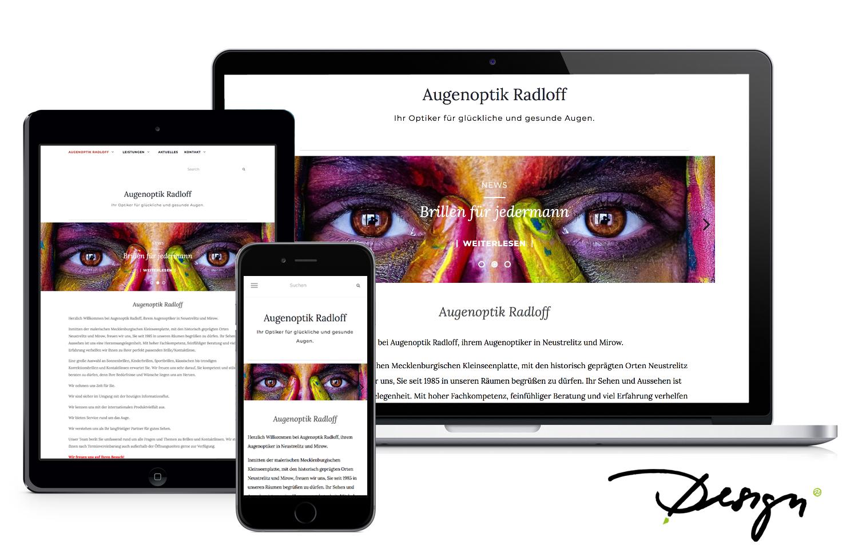 Responsives-Design-Webseiten Optiker