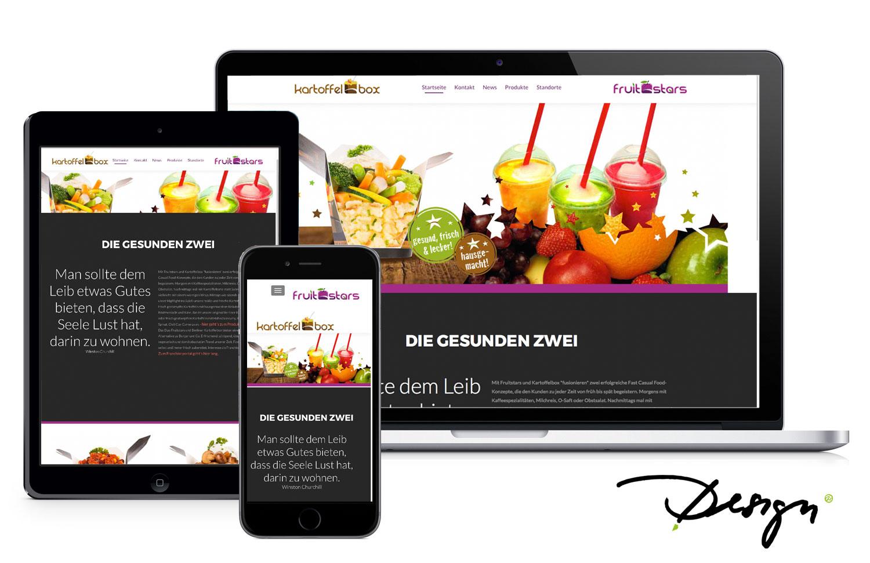 Responsives-Design-Webseiten-Muster-Kartoffelbox