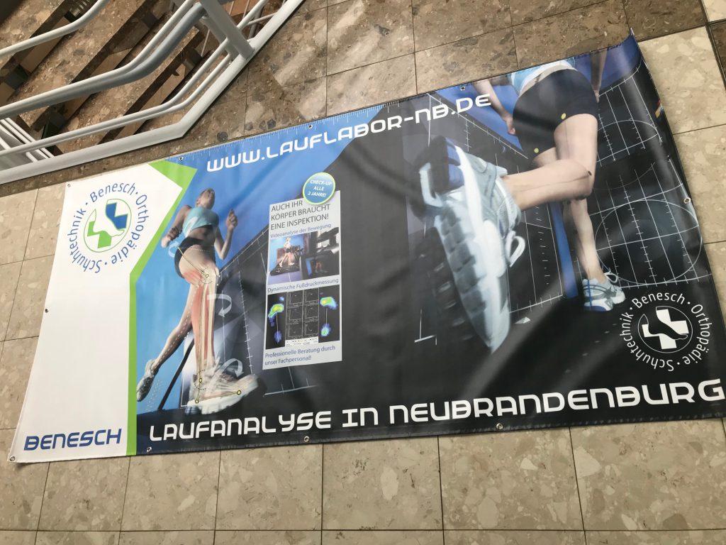 Banner PVC Werbebanner Anja Wießmann Design Neubrandenburg