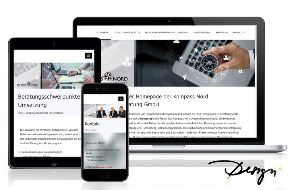 Responsives-Design-Webseiten-Kompass-Nord_Neubrandenburg_wiessmann